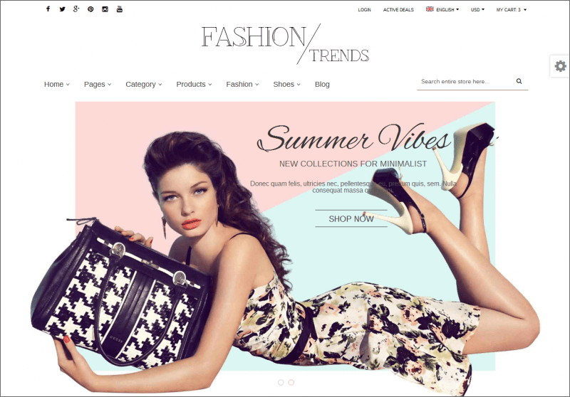 Premium Magento Fashion Theme