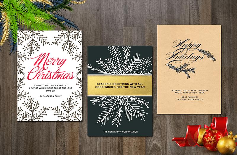 Printable Christmas Wishes Card