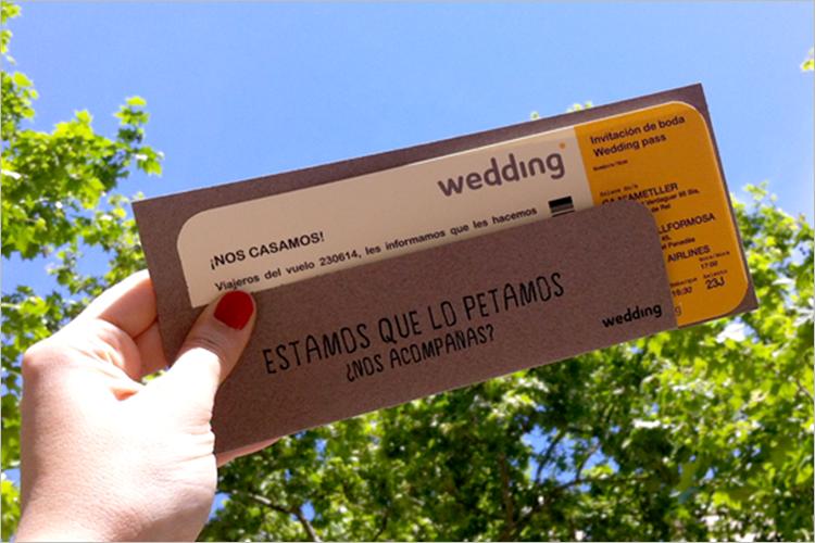 Realistic Boarding Pass Invitation Template Free