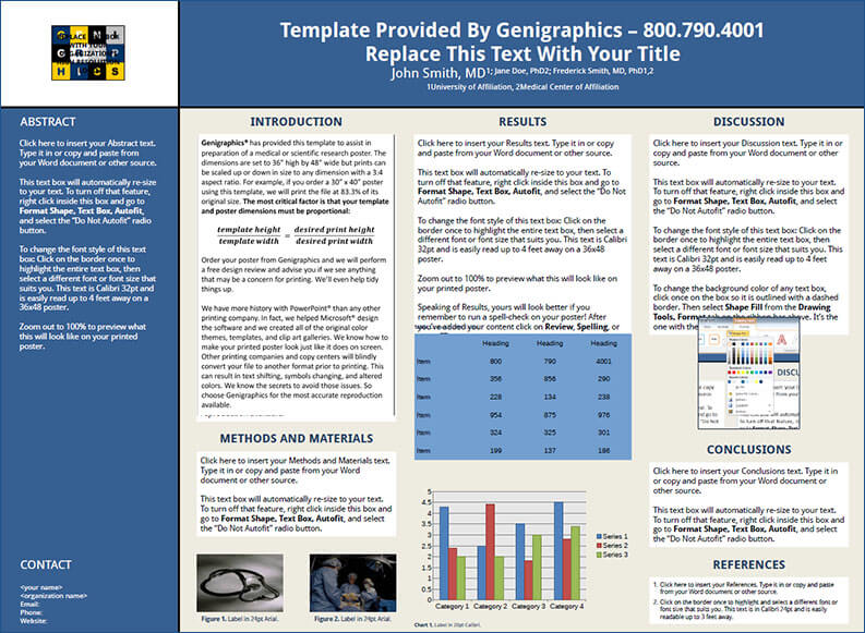 14 scientific research poster templates free ppt pdf design formats for Poster templates free download