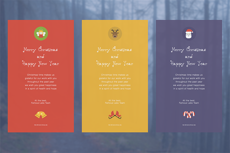 Responsive Christmas Email & Ecard Template