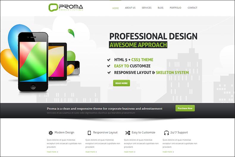Responsive Drupal HTML5 Theme