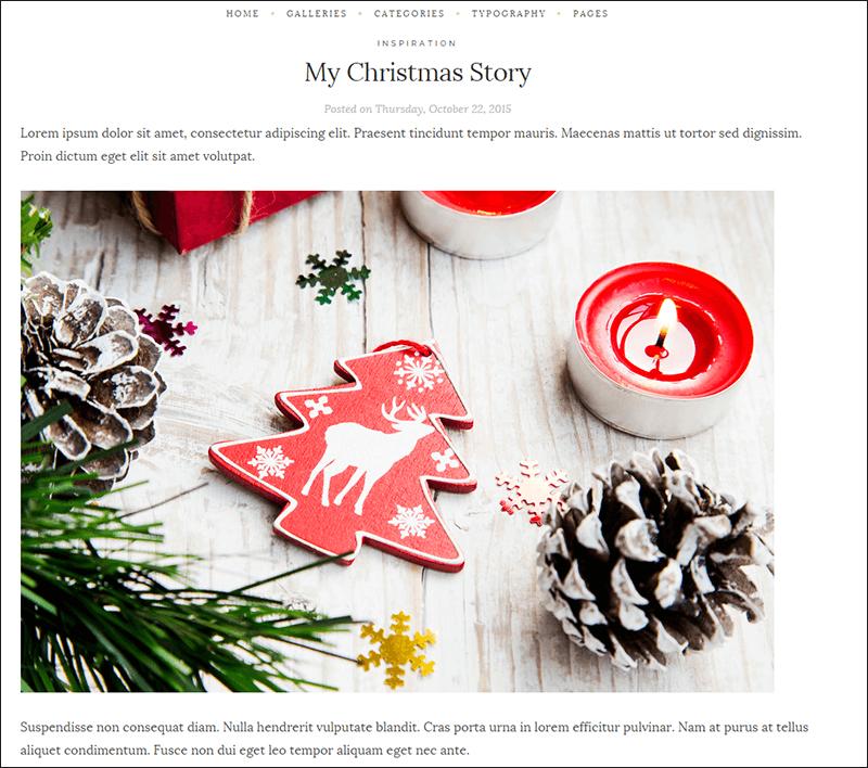 SEO Friendly WP Christmas Theme