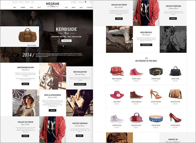 SEO Optimized Magento Fashion Theme