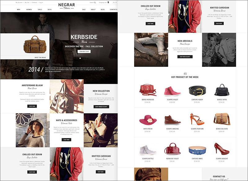 SEO Optimized Magento Fashion Theme