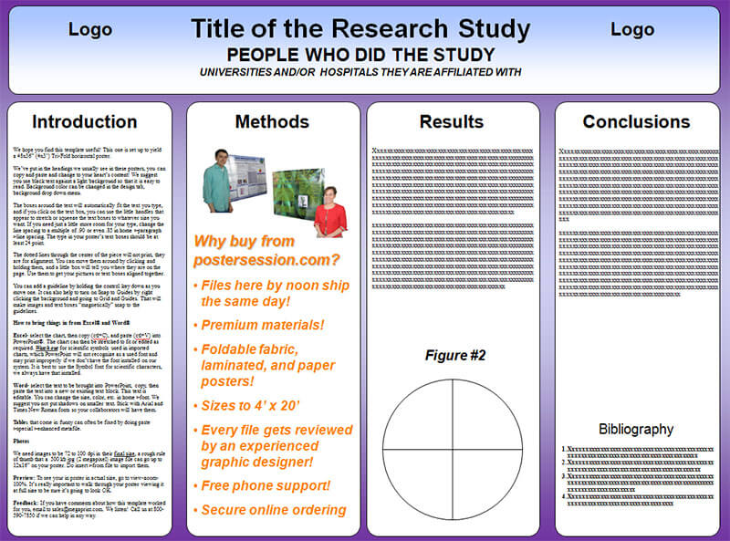 Scientific Poster Trifold Template