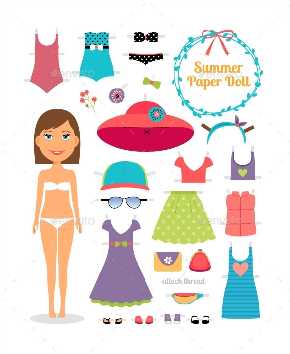 15 paper doll templates free pdf design ideas creative