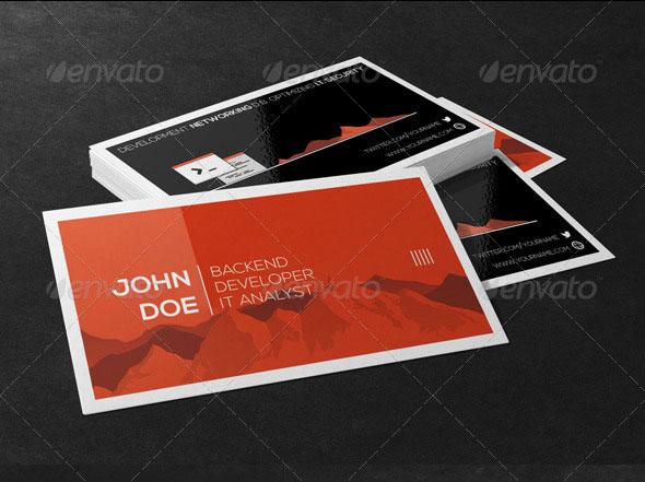 Swiss Developer Business Cards