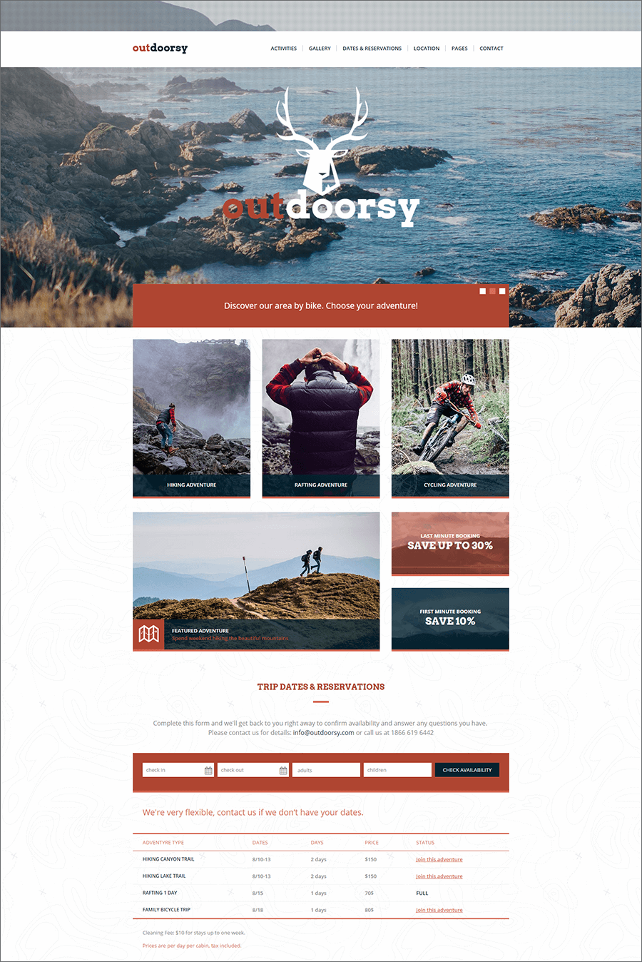 Tours & Travel PHP Template