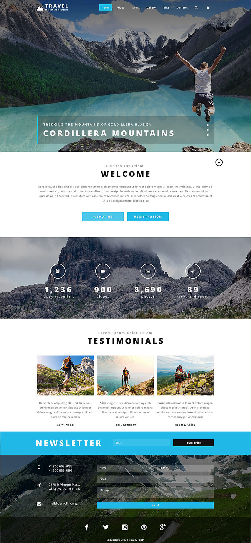 Travel Agency PHP Template