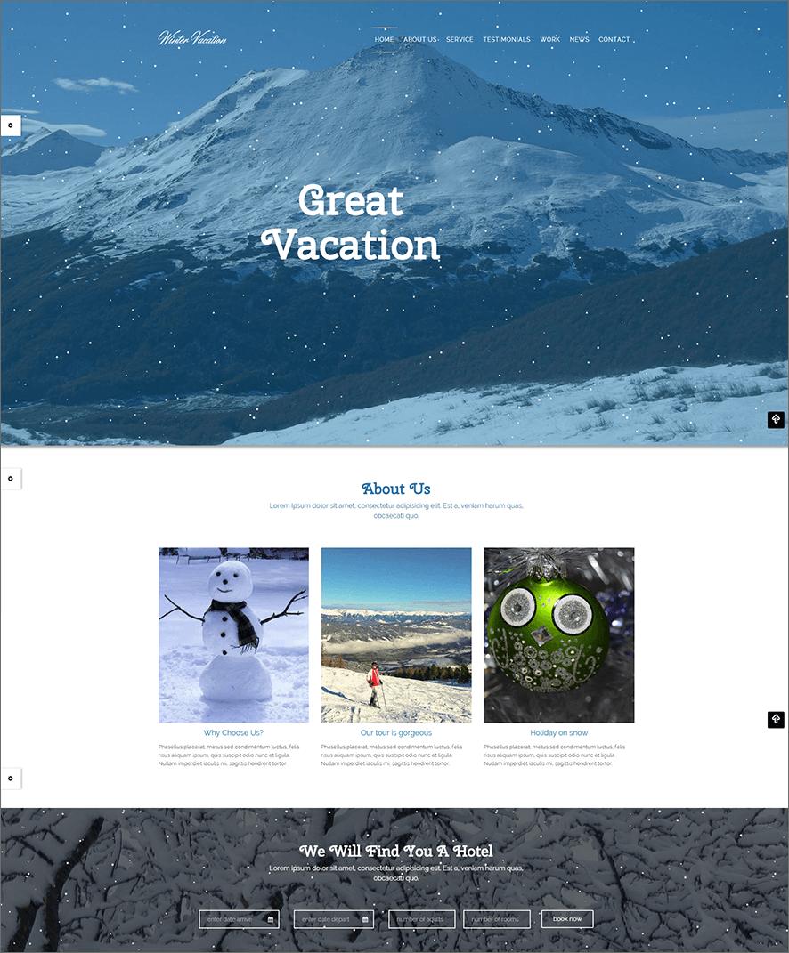 Travel PHP Theme