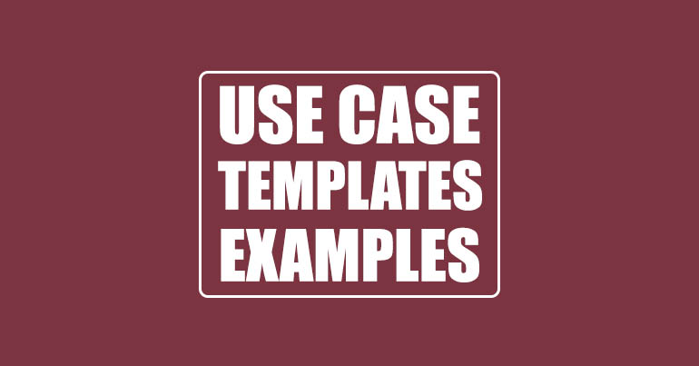 USE Case Templates