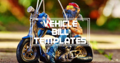 6+ Vehicle Bill Of Sale Templates