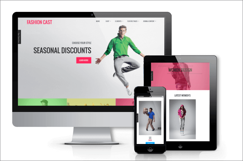 VirtueMart Fashion Template