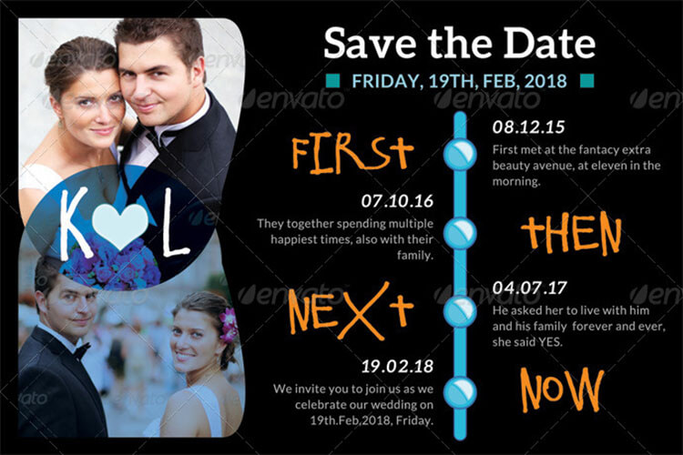 10 save the date card templates free word design ideas
