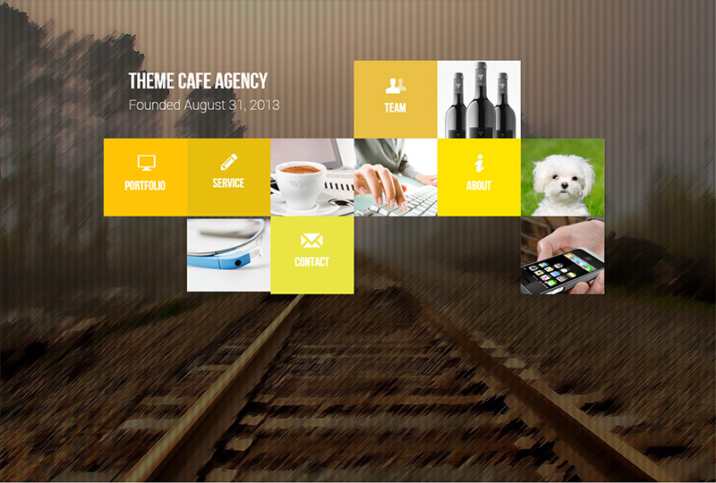 drupal responsive one page theme