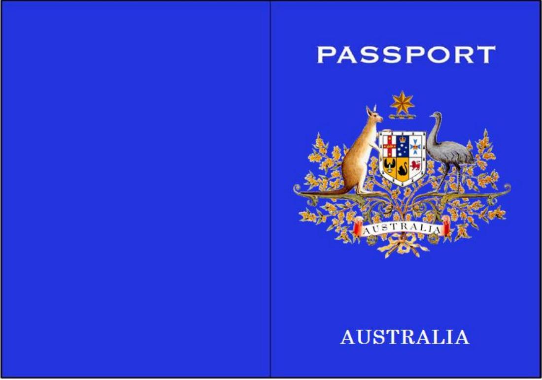 passport template pdf - Khafre