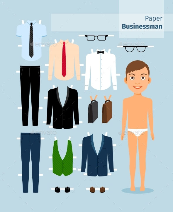 sample paper doll template