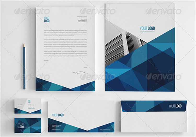 Abstract Architecture business card