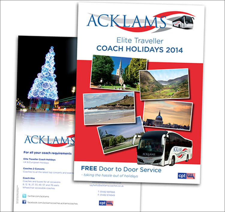 Acklams Holiday Brochure