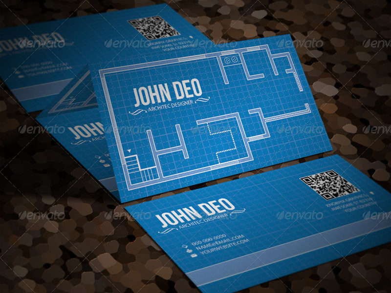 18+ Architect Business Cards Free PSD Design Templates | Creative ...