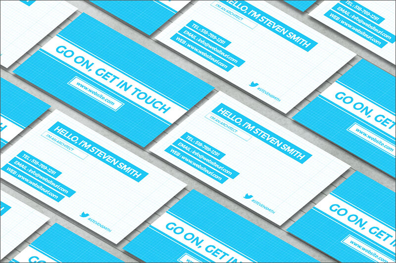 Architect Business Cards Free Premium Templates Creative - Architectural business