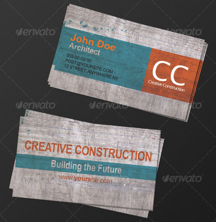 18+ Architect Business Cards | Free & Premium Templates | Creative ...