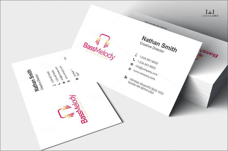 Bass Melody Business Card