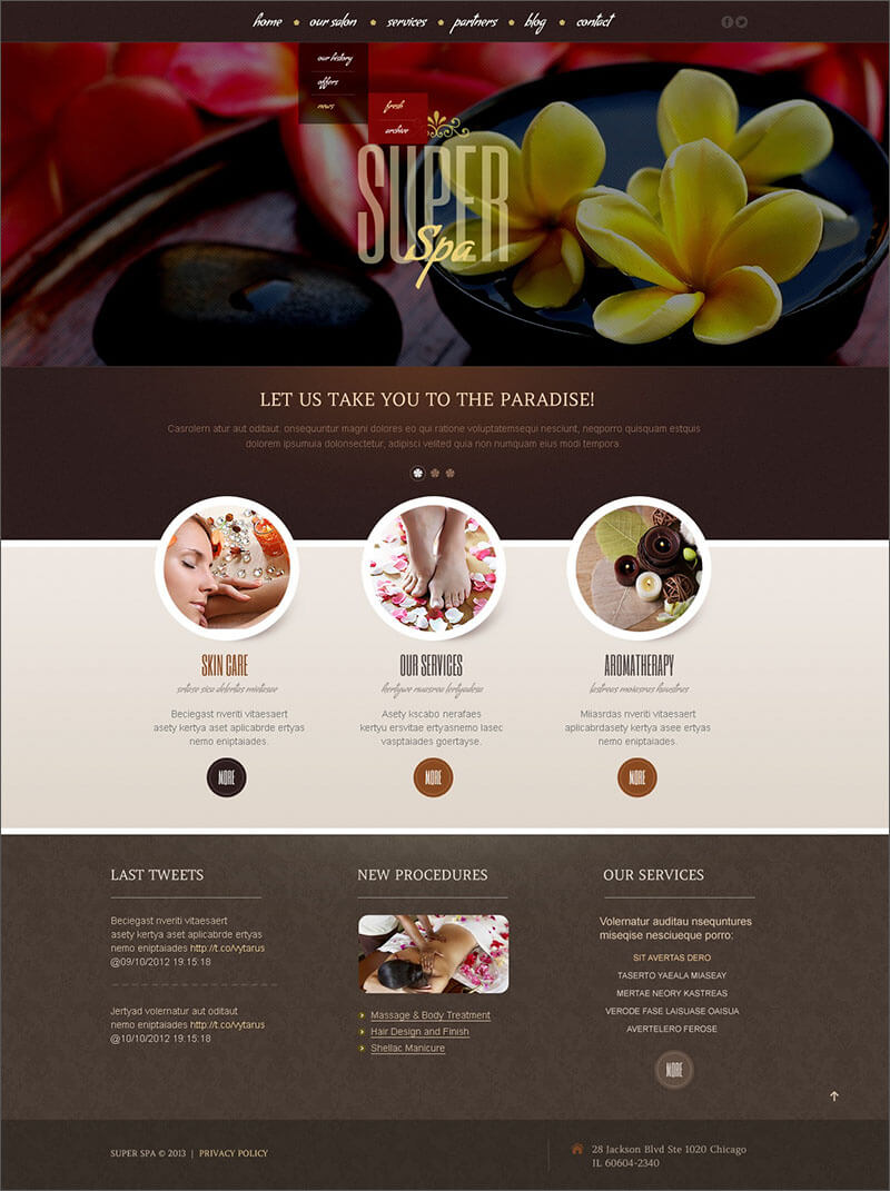 Beauty Blog Template