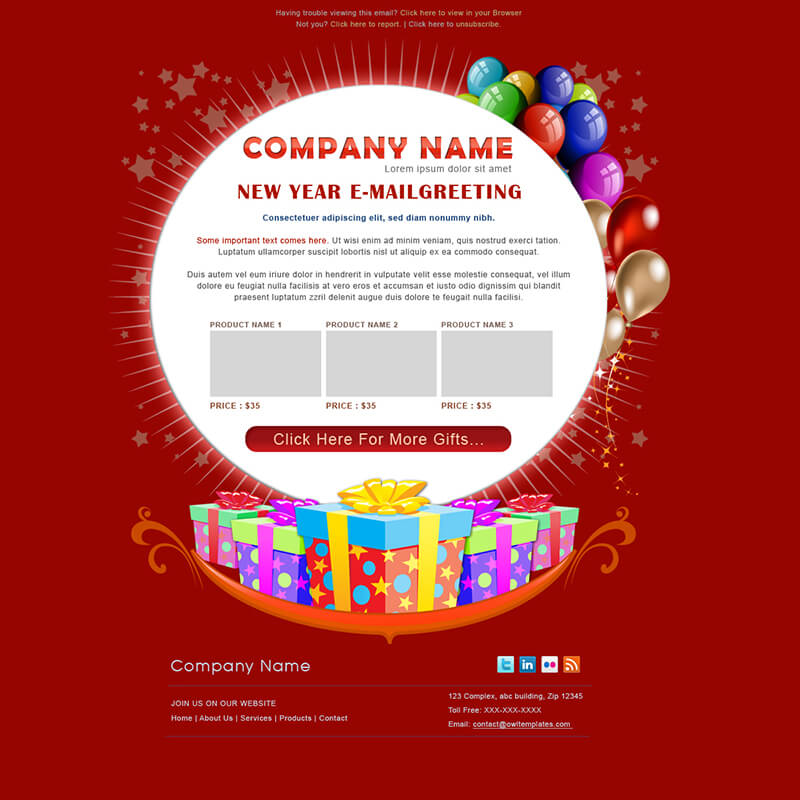 15 happy birthday email templates free  premium designs