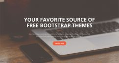 12+ Free Bootstrap Themes