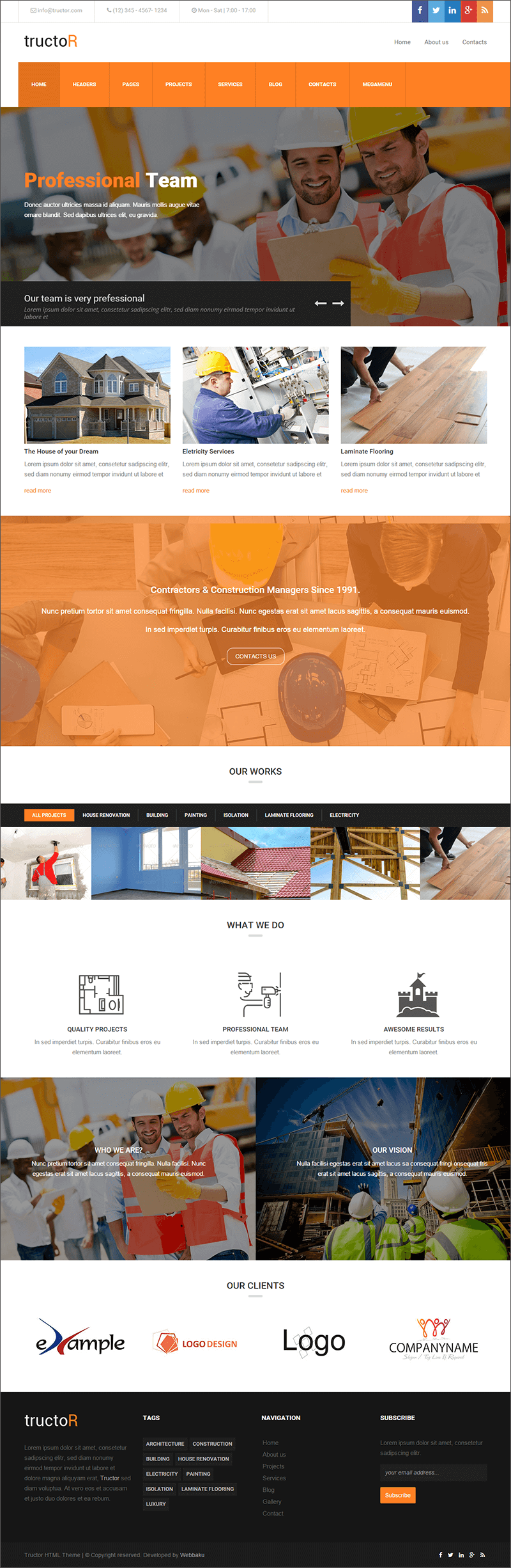Building Agency WP Theme