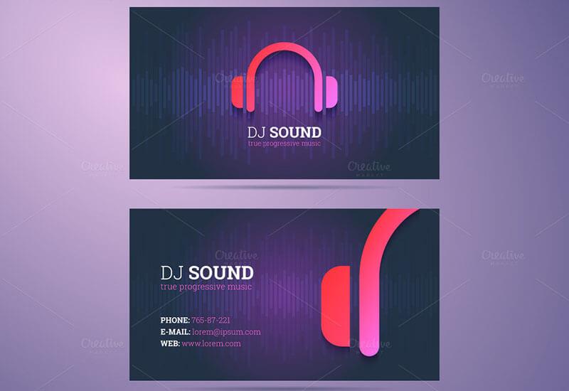 Business Card DJ Template