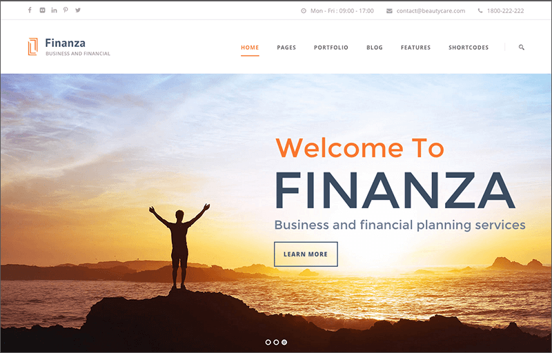 Business & Financial WP Theme