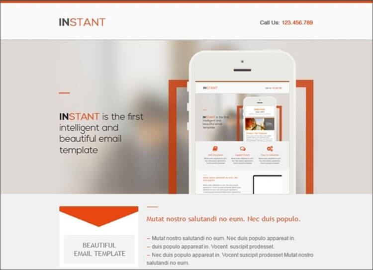 Business Responsive Email Template
