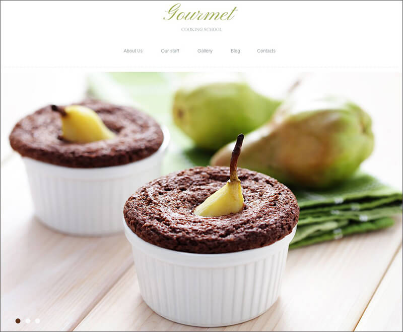 Cooking Blog Joomla Template