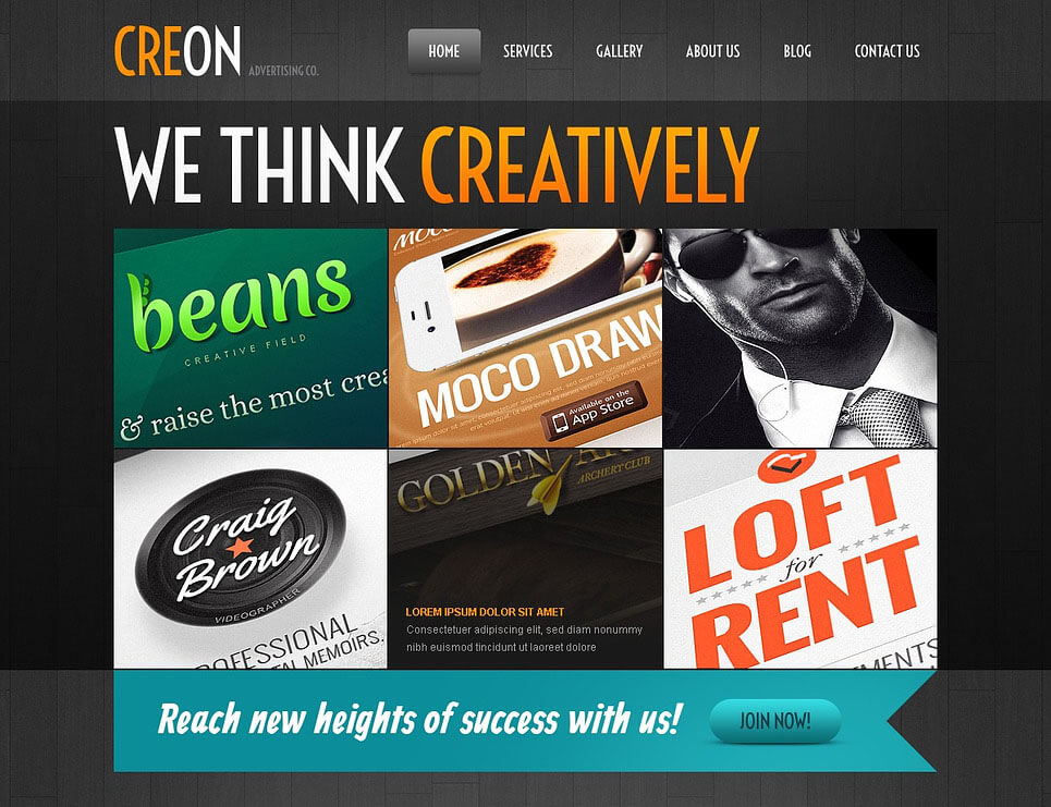Creative Advertising Agency WordPress Theme