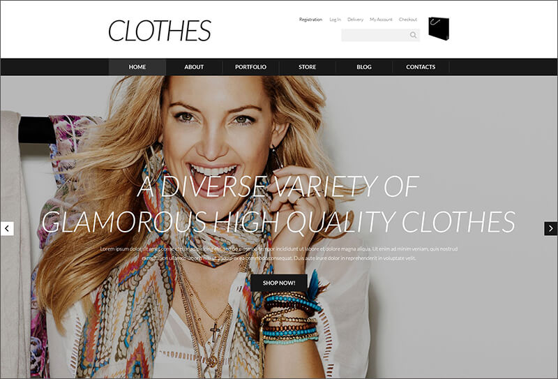 Designer Clothes WooCommerce Theme