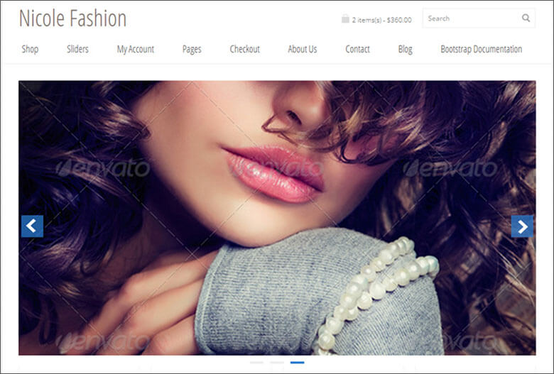 Fashion Bootstrap 3 eCommerce Template