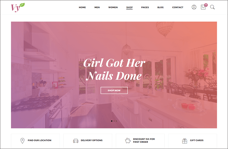 Fashion Bootstrap HTML Template
