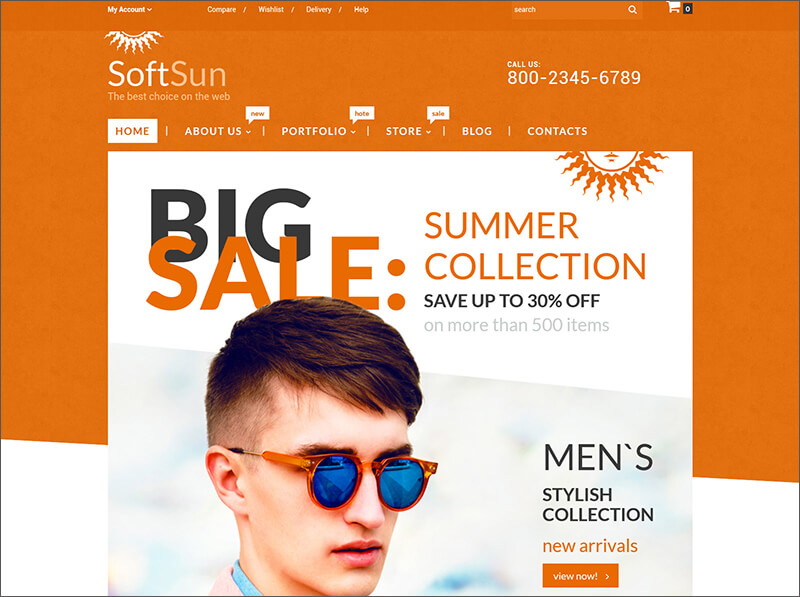 Fashion Bootstrap WooCommerce Theme
