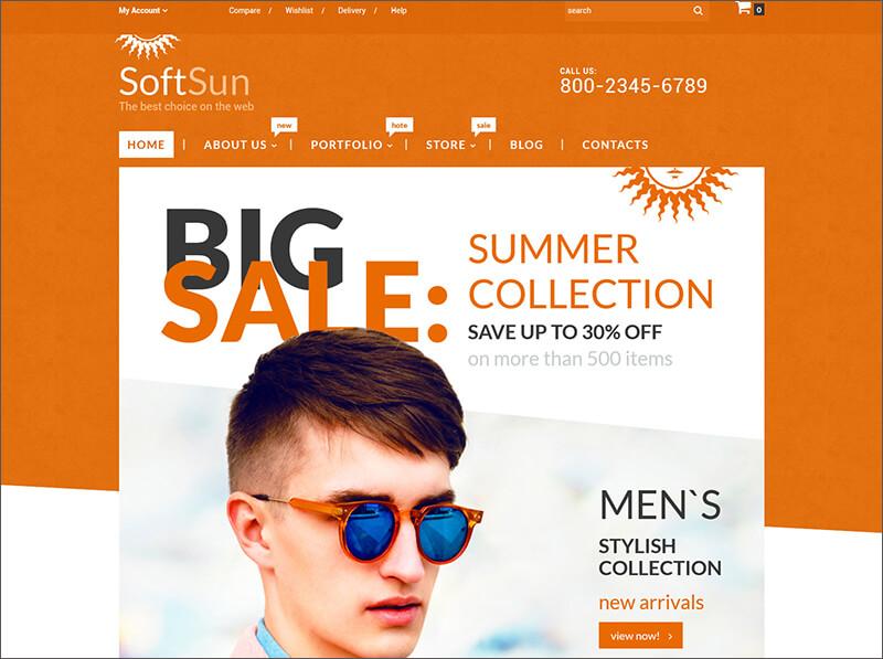 Fashion Bootstrap Templates Free Amp Premium Themes