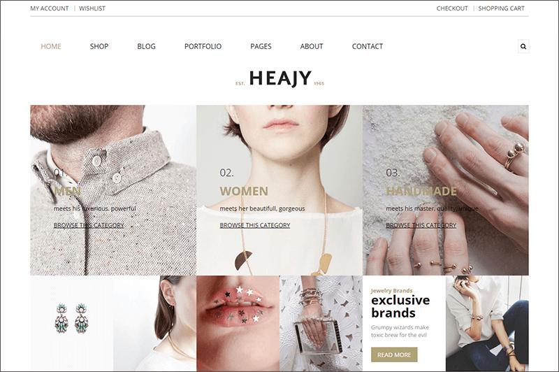 Fashion HTML5 Bootsrtap Template