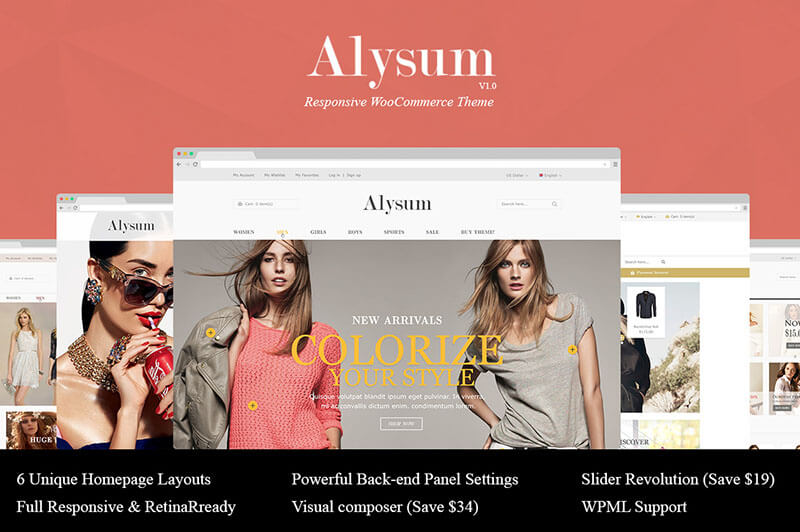 Fashion Responsive WooCommerce Theme