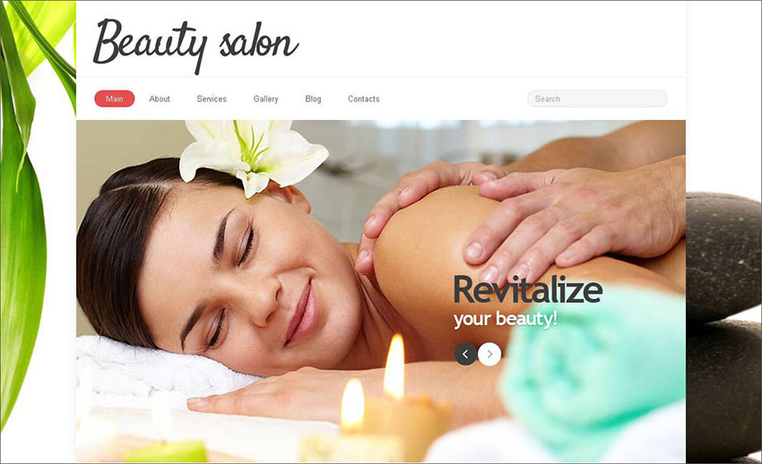 Fashion & Salon Joomla Template