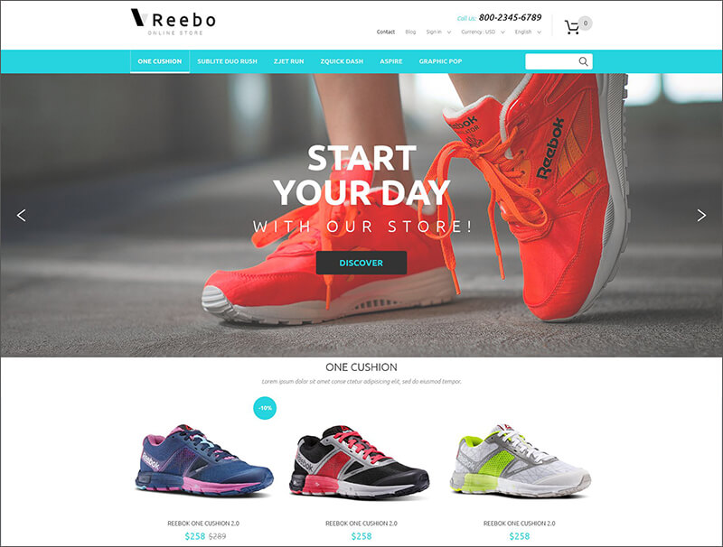 Fashion Store Bootstrap Theme