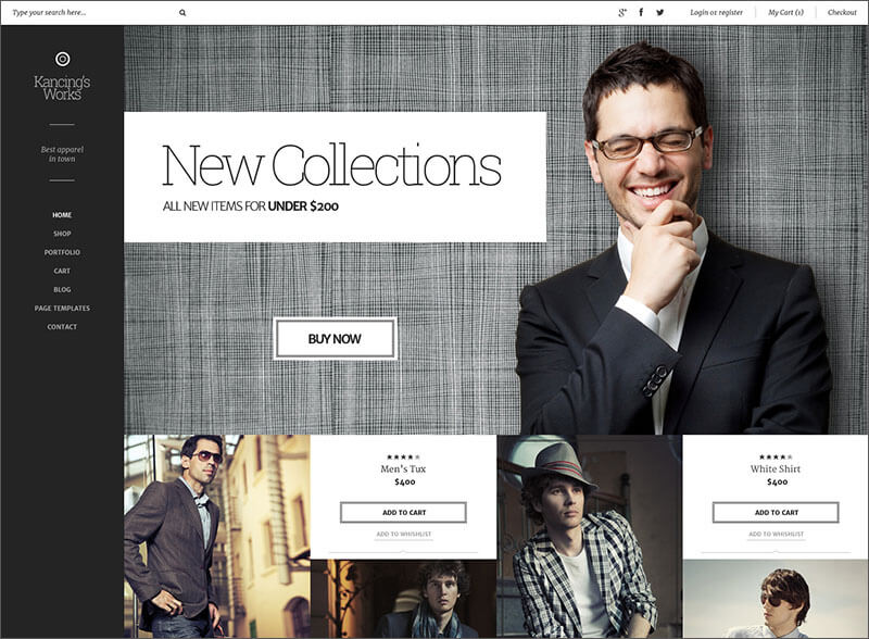 Fashion WooCommerce WP Theme