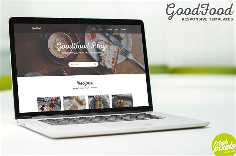 Food Blog HTML5 Template
