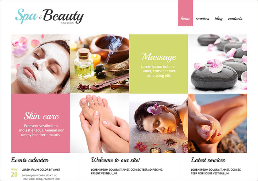 Fully Responsive Beauty Salon Joomla Theme