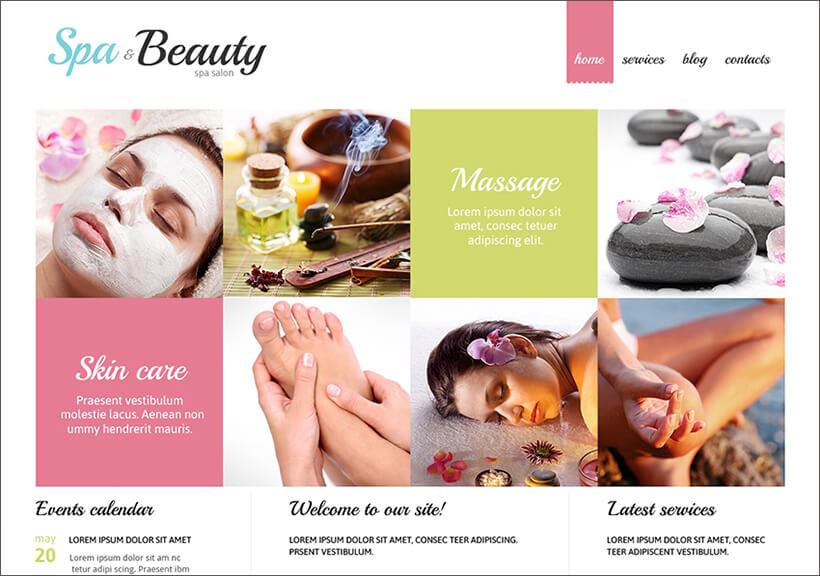 Fully Responsive Beauty Salon Joomla Theme